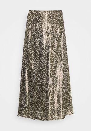 Áčková sukně - black/gold