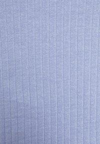 Monki - Camiseta de manga larga - blue light/beige - 7