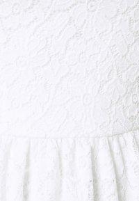 ONLY - ONLNEW ALBA SMOCK MIX DRESS - Cocktail dress / Party dress - bright white - 6