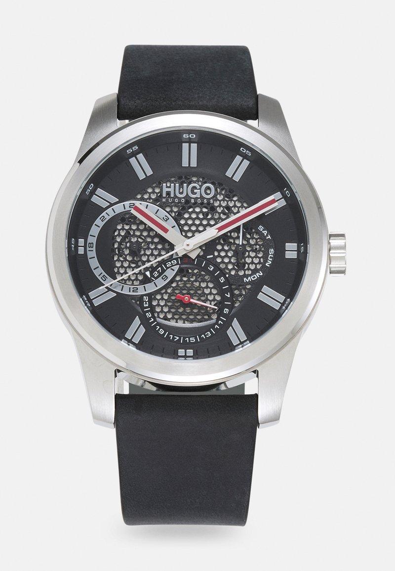 HUGO - SKELETON - Watch - black