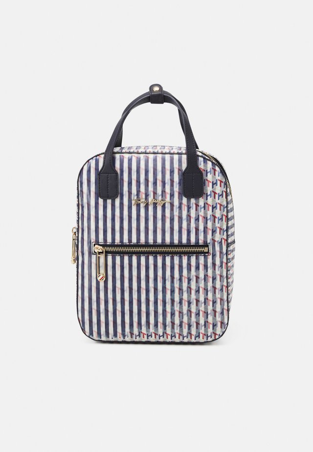 ICONIC BACKPACK LENTICULAR - Batoh - blue