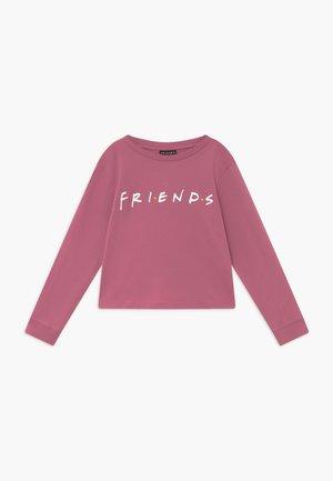 WARNER BROS FRIENDS GIRLS LICENSE - Long sleeved top - very berry