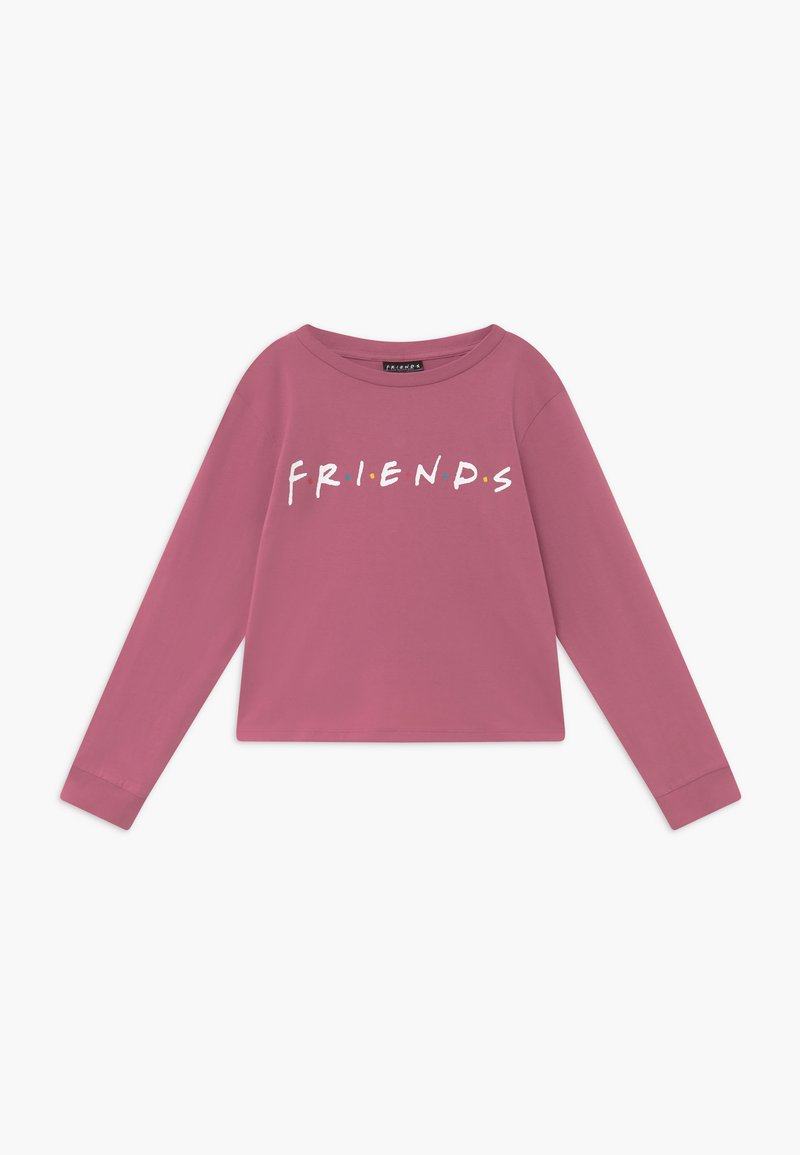 Cotton On - WARNER BROS FRIENDS GIRLS LICENSE - Long sleeved top - very berry
