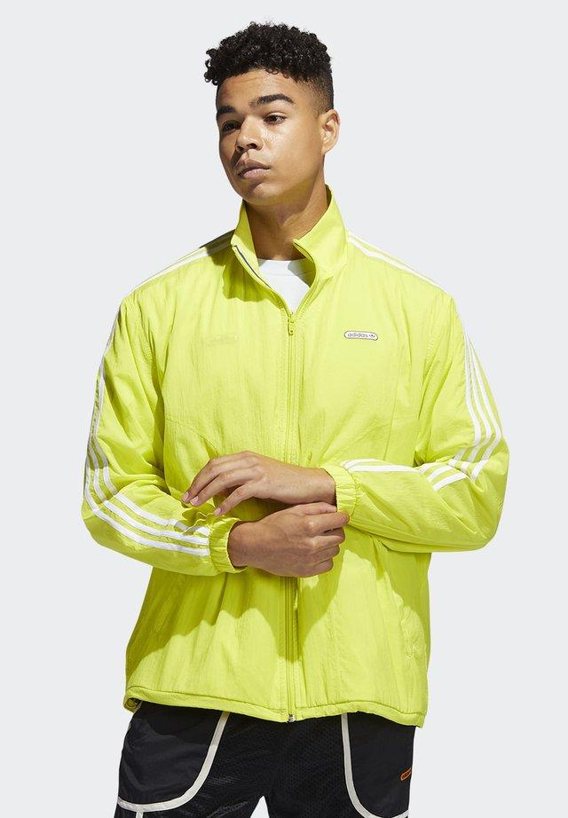 Training jacket - yellow