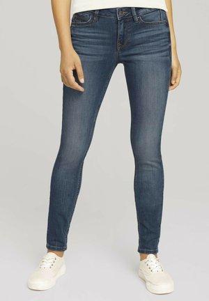 JONA - Jeans Skinny Fit - used mid stone blue denim