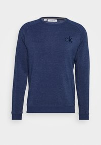 Calvin Klein Golf - COLUMBIA CREW NECK - Sweatshirt - denim marl - 3