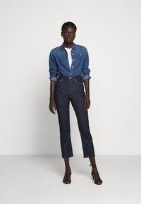 Lauren Ralph Lauren - SOFT STRAIGHT RAW - Straight leg jeans - rinse wash - 1