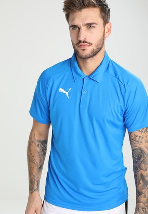LIGA SIDELINE  - Sports shirt - electric blue lemonade/ white