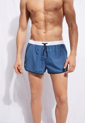 Swimming shorts - denim blue/deep blue/bianco
