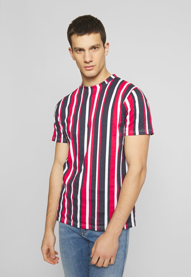 VERTICAL STRIPE - T-shirt imprimé - multi