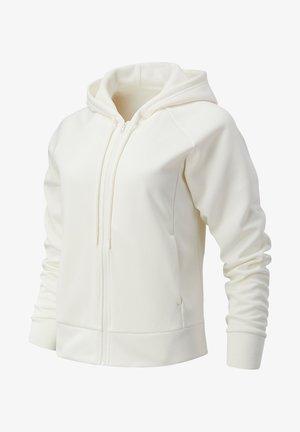Zip-up hoodie - sea salt