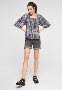 QS by s.Oliver - Blouse - pink aop - 1