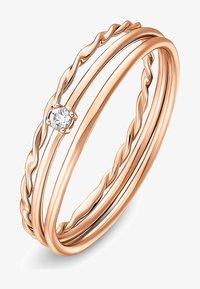 QOOQI - Ring - roségold - 1