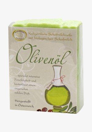 KALTGERÜHRTE SCHAFMILCHSEIFE OLIVENÖL 150 G - Soap bar - grün