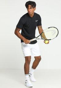 Nike Performance - DRY BLADE - Print T-shirt - black/white - 1
