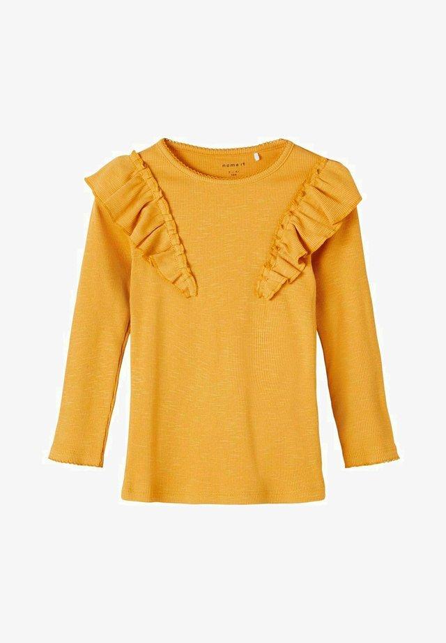 Pitkähihainen paita - spruce yellow