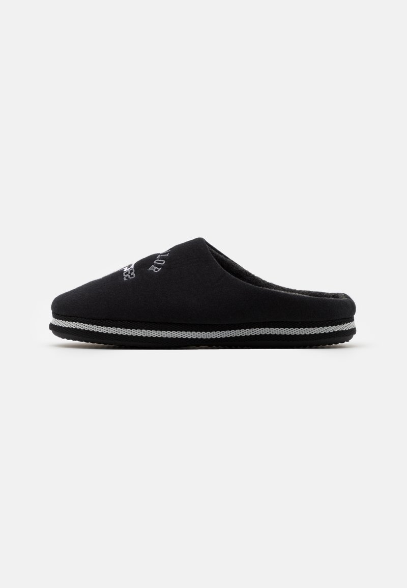TOM TAILOR - Slippers - black