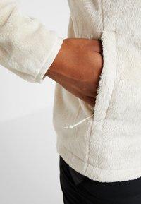 The North Face - OSITO JACKET - Fleece jacket - vintage white - 4