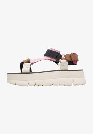 ORUGA UP - Platform sandals - rosa
