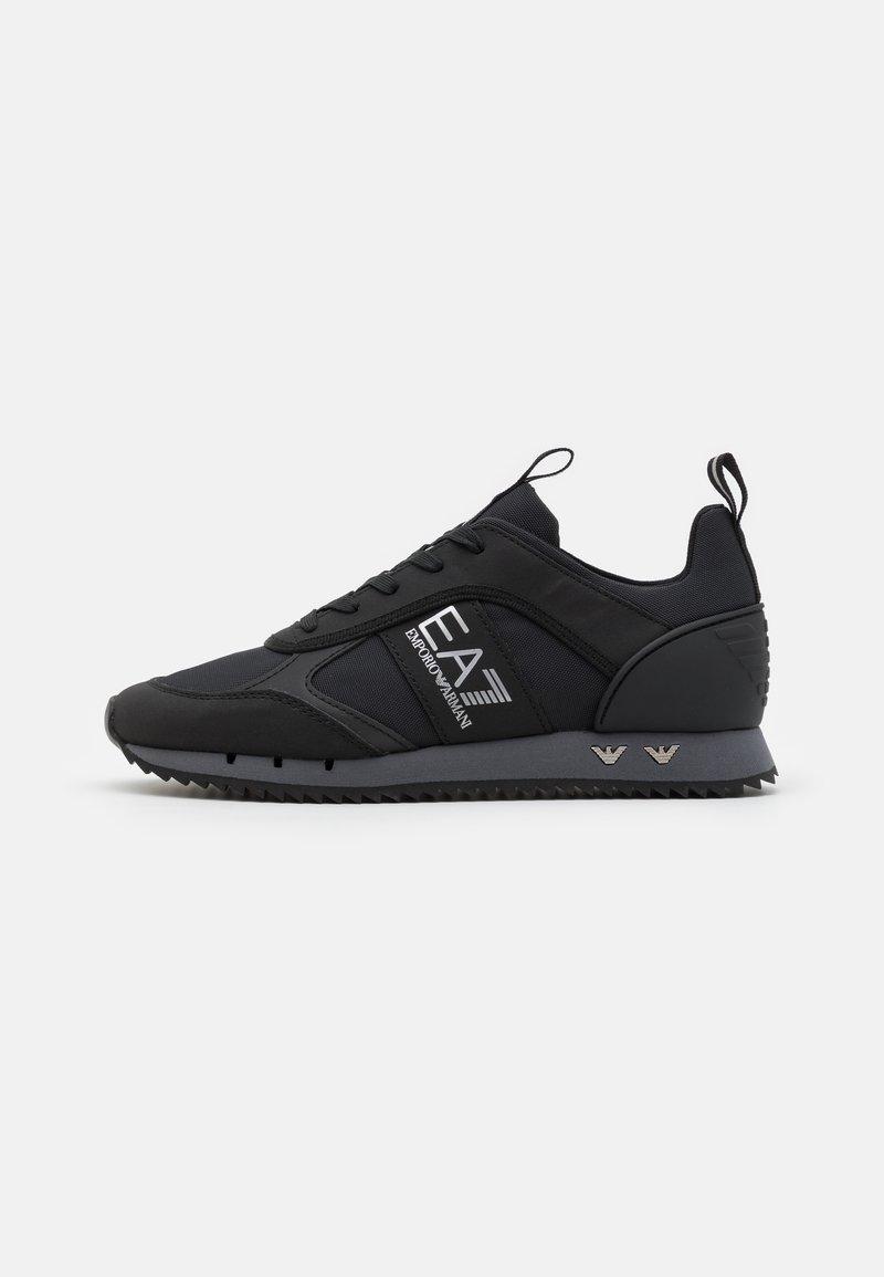 EA7 Emporio Armani - UNISEX - Trainers - black/mottled dark grey