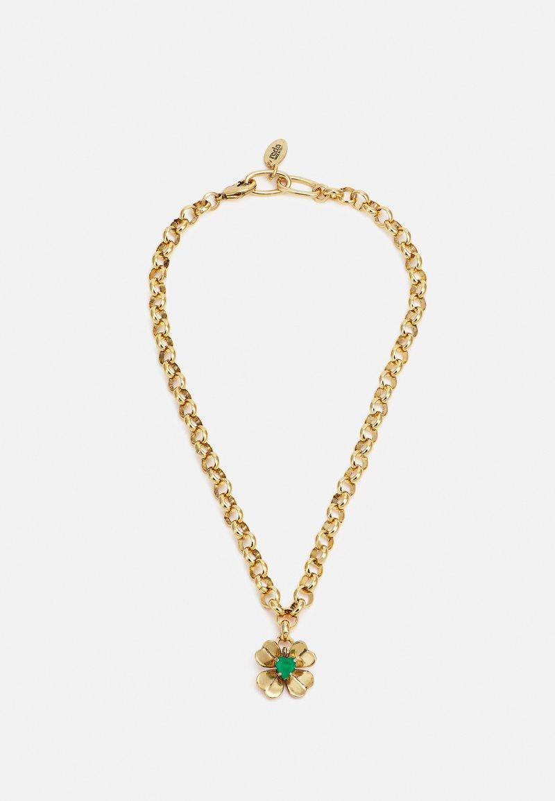 Radà - NECKLACE - Necklace - green/gold-coloured