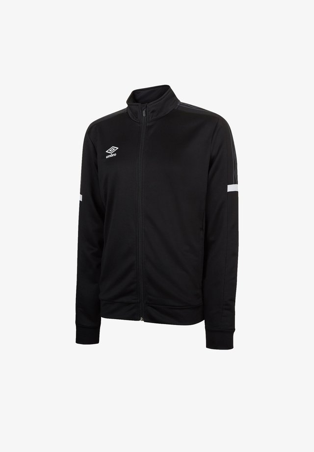 TEAMSPORT LEGACY TRACK - Training jacket - schwarzweiss