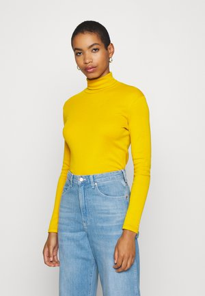 TURTLE NECK - Long sleeved top - mustard