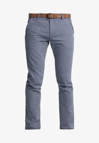 TOM TAILOR DENIM - STRUCTURED - Chinosy - blue - 4