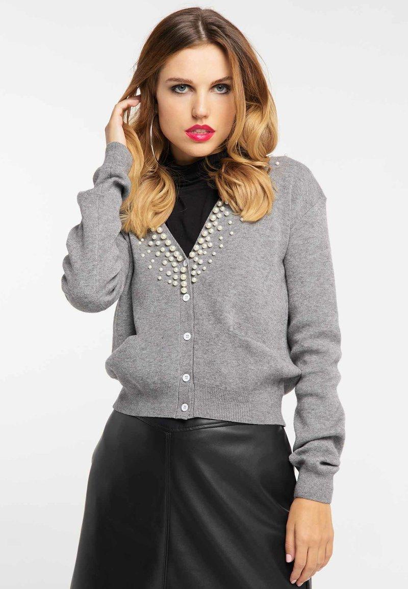 faina - Cardigan - grey