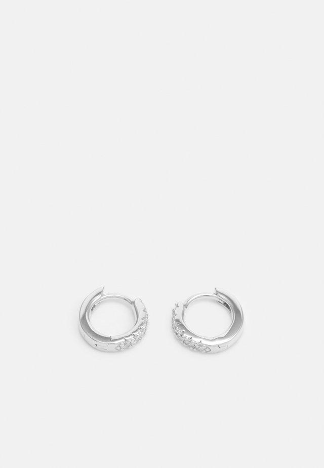 ELLERA PICCOLO EARRINGS - Orecchini - silver-coloured