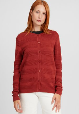 Cardigan - barn red