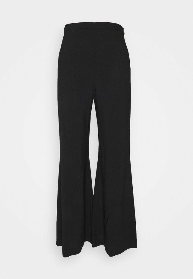 PANTALONE - Trousers - black
