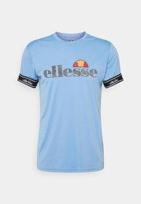 Ellesse - ALENTE - Print T-shirt - light blue - 3