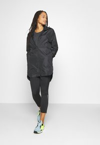 adidas Performance - OUTERIOR WIND.RDY PARKA - Short coat - black - 1