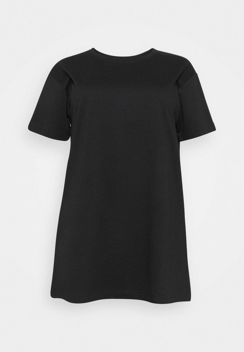 Zizzi - ECINDY TUNIC - Basic T-shirt - black
