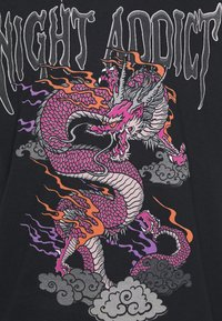 Night Addict - Print T-shirt - black - 2
