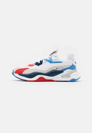 BMW MMS RS-2K UNISEX - Sneakers basse - white/marina/high risk red