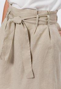 zero - A-line skirt - beige - 3