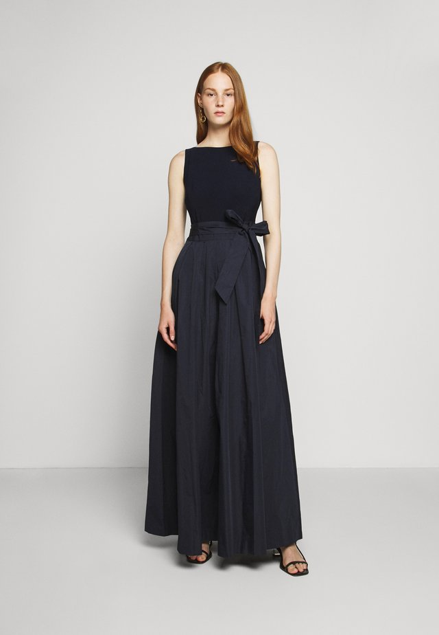 MEMORY LONG GOWN COMBO - Robe de cocktail - lighthouse navy