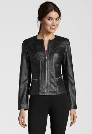 BELINA7E - Leather jacket - black