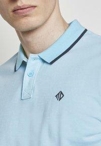 TOM TAILOR DENIM - Polo shirt - soft sky blue melange - 3