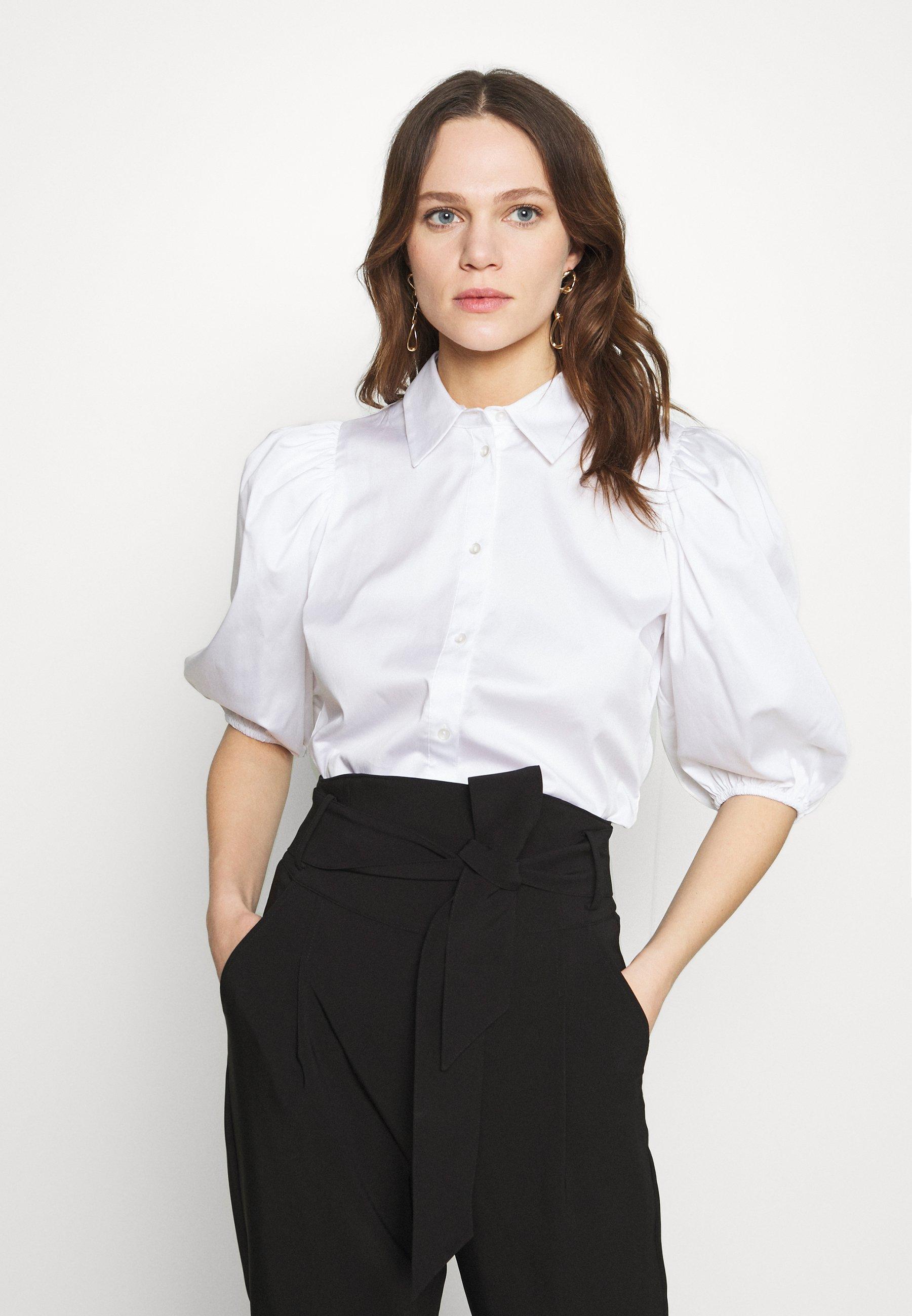 Women KIRA SHORT SLEEVE - Button-down blouse