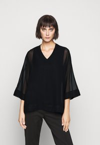 Steffen Schraut - DREW'S FASHION - Blouse - black - 0