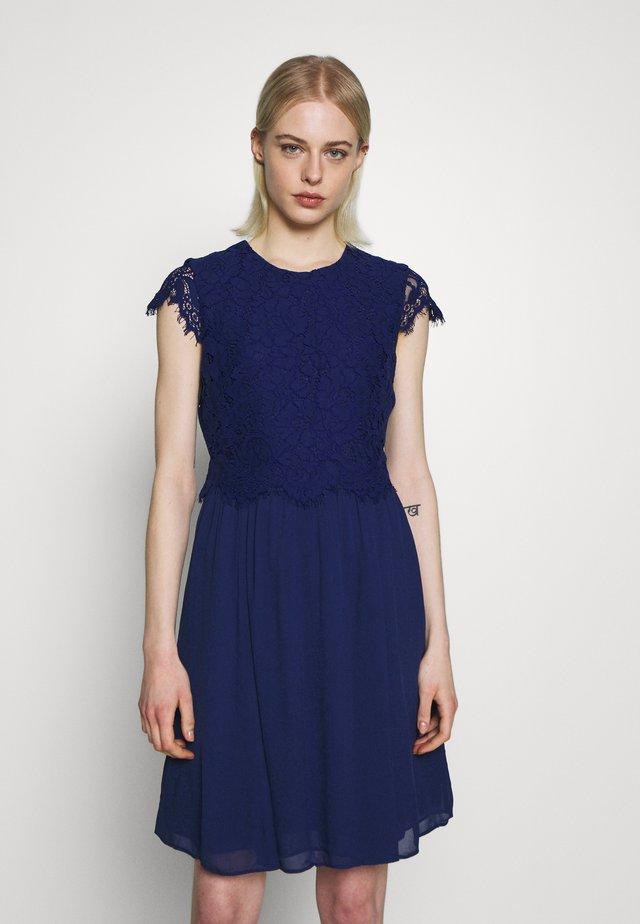 DRESS 2IN1 MINI - Juhlamekko - indigo