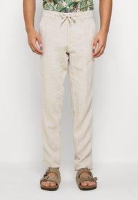 Esprit - Pantalon classique - beige - 0