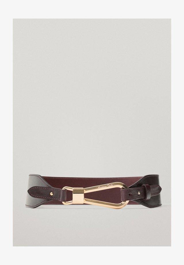 Waist belt - bordeaux