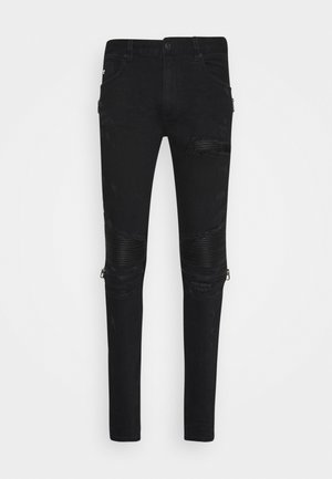 AREZZO CARROT FIT  - Jeansy Zwężane - black