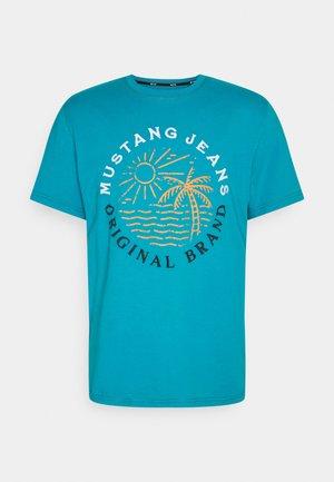 ALEX EMBRO - T-shirt med print - caneel bay