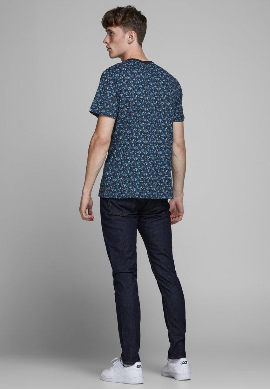 Jack & Jones PREMIUM Print T-shirt - navy blazer vYbCg