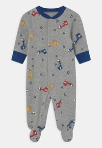 Converse - SNEAKER PRINTED FOOTED UNISEX - Sleep suit - dark grey heather - 0